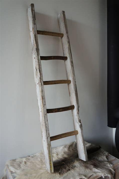 robuuste houten ladder 25 beste idee 235 n over houten ladder inrichting op