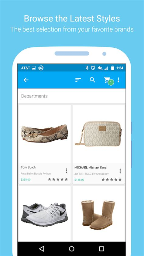 zappos shoes clothes more android apps on google play zappos shoe shopping made simple android apps on