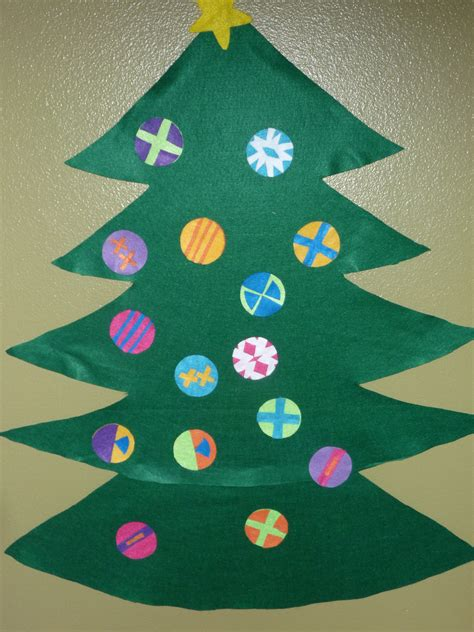 christmas tree crafts for preschool frugal felt tree project for the