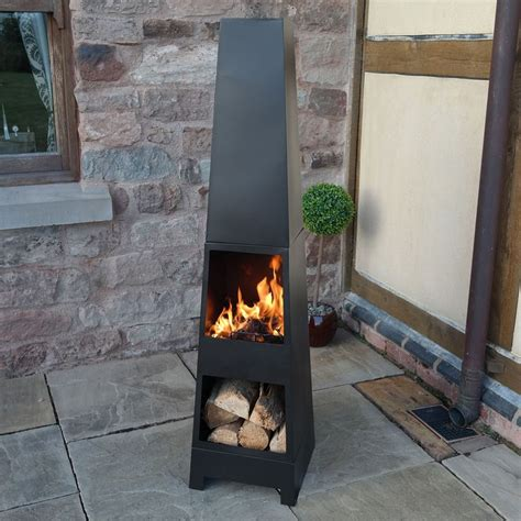 Best Logs For Chiminea by 25 Best Ideas About Outdoor Wood Burner On