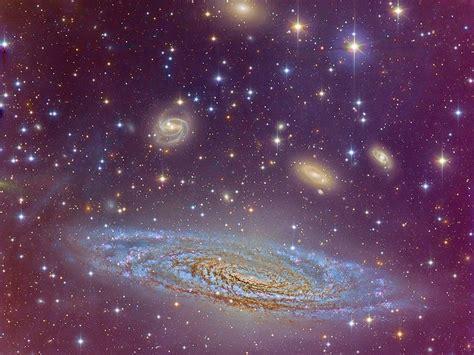 universo galaxias dosis astronomica como se agrupan las galaxias en el universo conocido