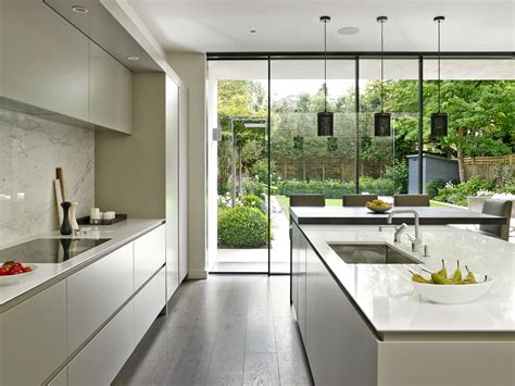 sleek kitchen design sleek minimalist modern kitchen design in wandsworth