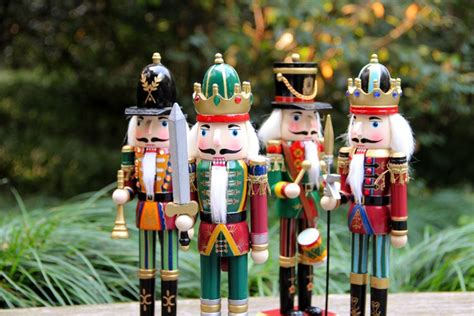 Superior Decorative Nutcrackers For Christmas #5: Colorful-30CM-wooden-font-b-nutcracker-b-font-font-b-soldier-b-font-knight-Christmas-crafts.jpg