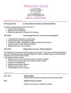 Curriculum Vitae References by Exemple De Cv Esth 233 Ticienne Esth 233 Ticien Exemple De Cv