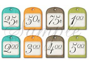 printable price tags for bake sale images