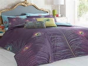 peacock color bedding with style