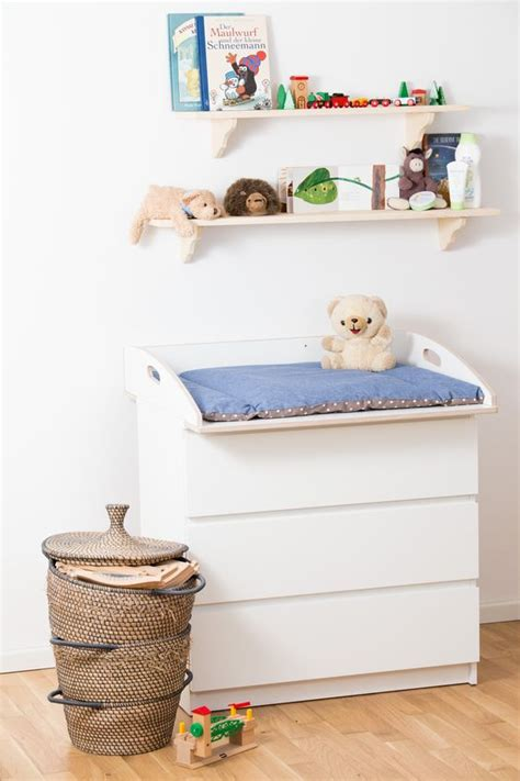 Malm Dresser Changing Table by Wickelaufsatz F 252 R Malm Kommode Designer Edition Wei 223