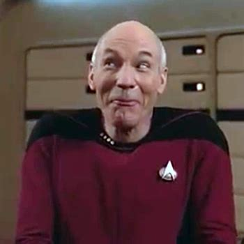 Goofy Face Meme - picard funny face 2 blank template imgflip