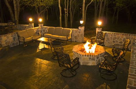 catchy patio lighting ideas representing energetic outdoor
