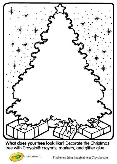 decorate your own christmas tree worksheet 113 free tree coloring pages for the