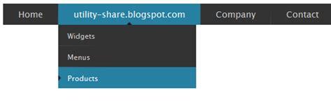 membuat drop down menu html dan css membuat widget menu drop down horizontal dengan css dan