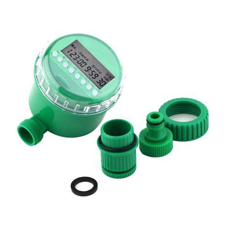 Digital Timer Keran Air Taman Otomatis digital water timer kran air timer alat penyiram tanaman otomatis
