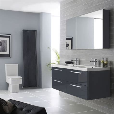 Black And White Bathroom Furniture by Best 25 Black Bathroom Furniture Ideas On White