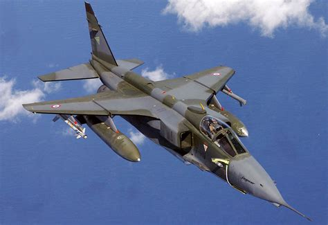 Jaguar Fighter Jet Sepecat Jaguar Strike Fighter Aircraft
