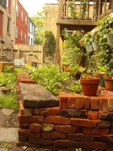bricks garden pics 25 best ideas about brick planter on brick garden brick yard and brick wall gardens