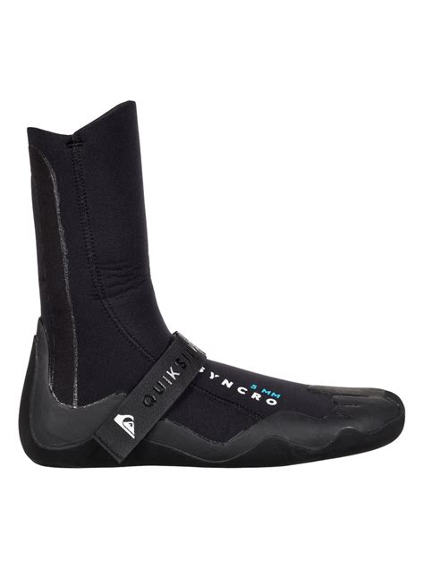 surf boots 5mm syncro surf boots eqyww03019 quiksilver
