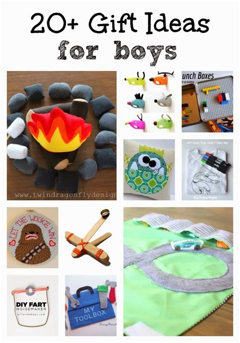 20 diy gift ideas for boys 187 dragonfly designs