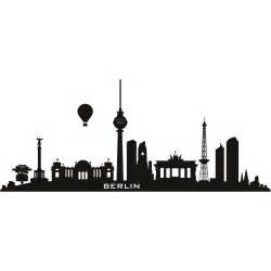 Union Jack Wall Stickers berlin germany skyline cities wall art decal wall stickers