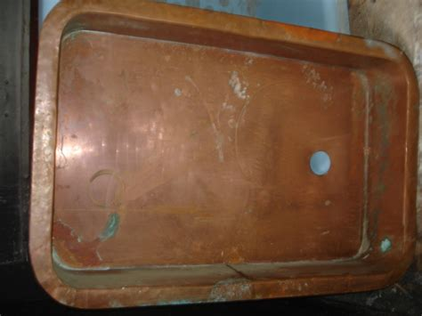 vintage copper sink