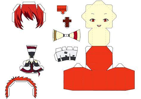 No Papercraft - ittoki otoya papercraft maji 1000 template by