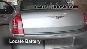 Chrysler 300c Battery Battery Replacement 2005 2010 Chrysler 300 2005