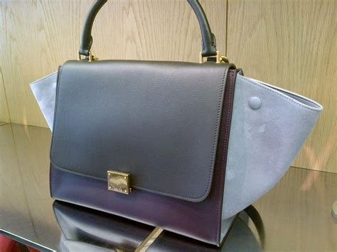 Celline Trapaze trapeze bags for fall 2013 spotted fashion