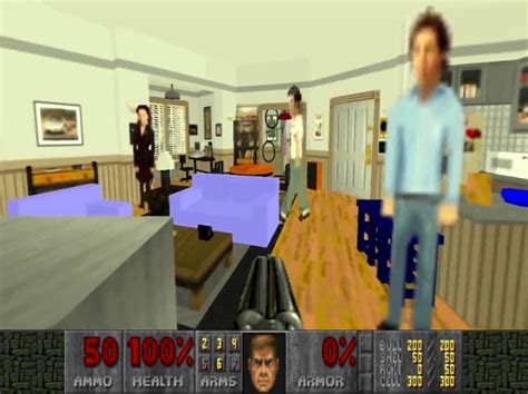 Seinfeld Apartment Viewing Doom Mod Lets You Hangout With The Cast Of Seinfeld Kill