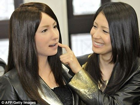 japanese android walking talking living doll japanese scientists unveil android daily mail