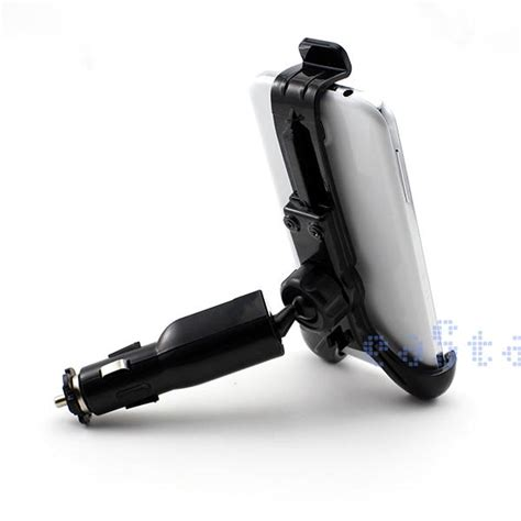 cigarette lighter socket phone holder 1500ma car cigarette lighter mount universal mobile phone