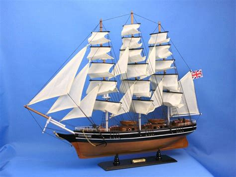 Cutty Sark Clipper Handmade Wooden - buy wooden cutty sark model clipper ship 30 inch
