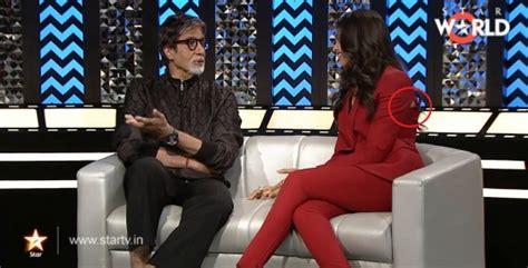 Wardrobe Moments by Deepika Padukone Suffers Wardrobe On National Television Indiatimes