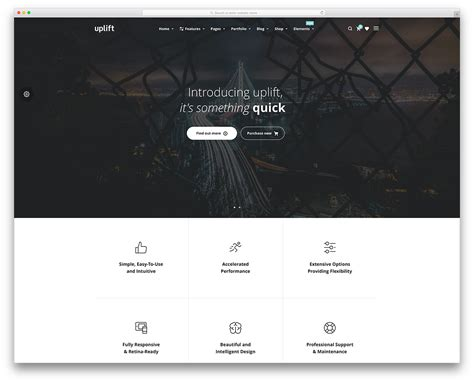 20 Most Popular Drag And Drop Wordpress Themes 2018 Colorlib Simple Landing Page Template