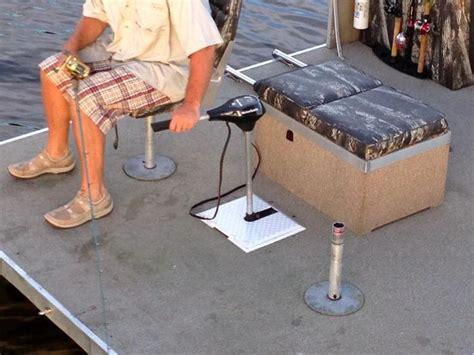 trolling motor mount for pontoon boat 25 best ideas about pontoon boating on pinterest