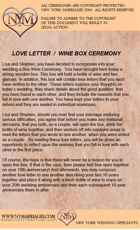 Wedding Box With Wine And Letters by Sle Letter Wine Box Ceremony Unique Wedding
