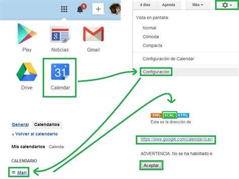 Calendario G Mail Suscribirse A Un Calendario De Gmail En Outlook