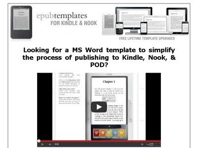kindle templates for word kindle template for microsoft word microsoft word