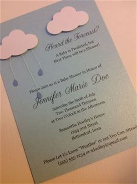 April Showers Baby Shower Invitations by April Showers Baby Shower Invitation By Laladoodles