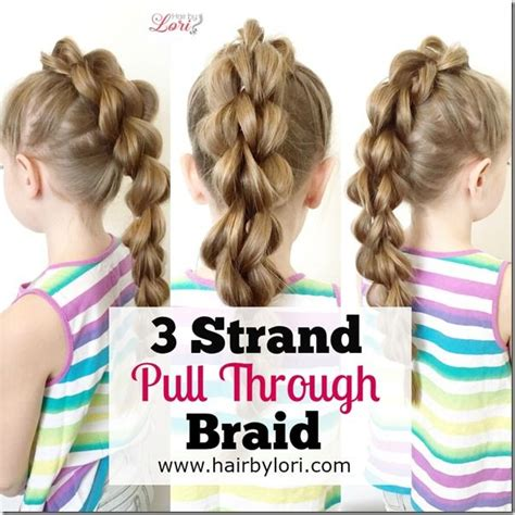 stylish three strand hairstye 17 best images about hair style videos on pinterest 5