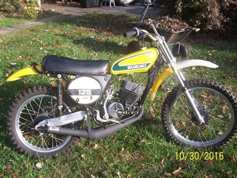 Suzuki Tm 125 For Sale Motorcycles In Westminster Maryland