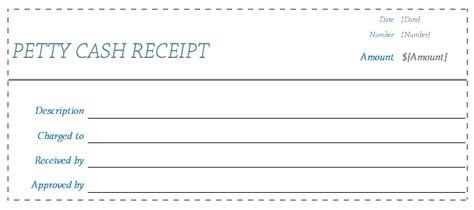 receipt template blank receipts  word