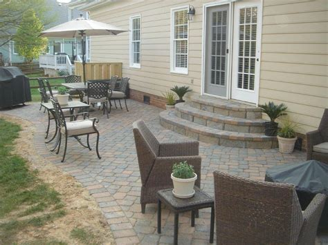 Scenic Outdoor Front Porch Steps Ideas With Brown Wooden Ideas For Backyard Patio