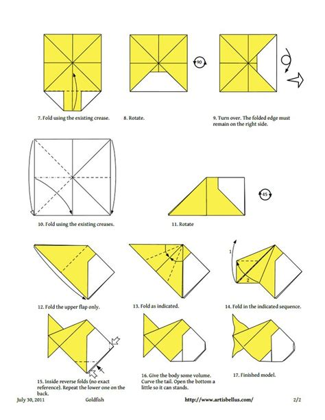 Origami Koi Diagram - 58 best origami it images on