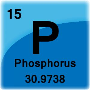 Phosphate Periodic Table by Phosphorus Facts