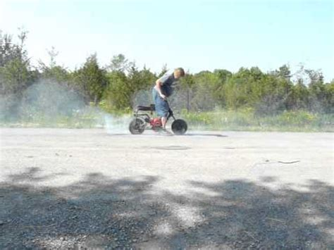 doodle bug mini bike wont stay running 10 5hp modified stock appearing gx160 cadet ryehouse