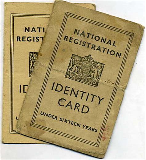 ww2 children s identity card template homefront ephemera paperwork leaflets id cards etc