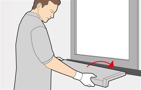 fensterbank einbauen 187 innen au 223 en 187 montageanleitung - Kunststoff Fensterbank Innen Einbauen