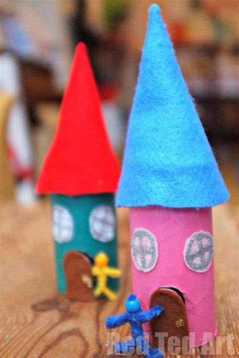 crafty house fairy house craft for kids to make red ted art s blog