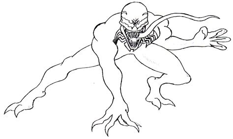 venom coloring pages printable venom coloring pages printable venom best free coloring