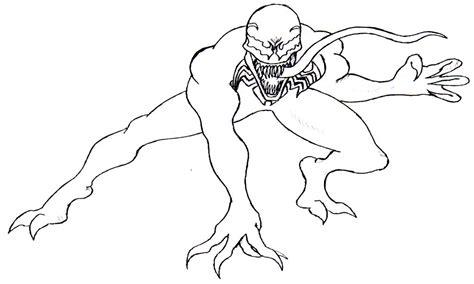 Venom Coloring Pages Coloring Pages Venom
