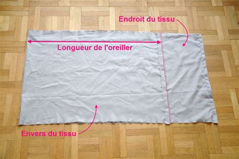 taie d oreillers tuto couture taie d oreiller